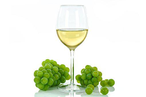 White Wine, Cup, Glass, An Isolated