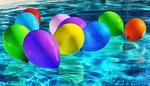 balony, kolorowy, balonów