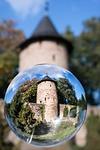 glass ball, watchtower