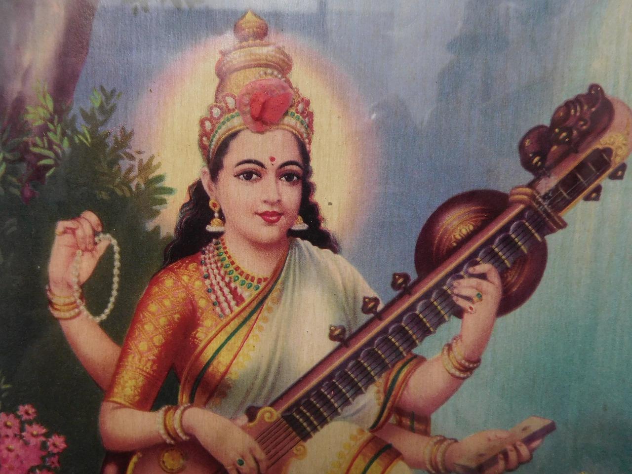 образы индийских богинь картинки чем