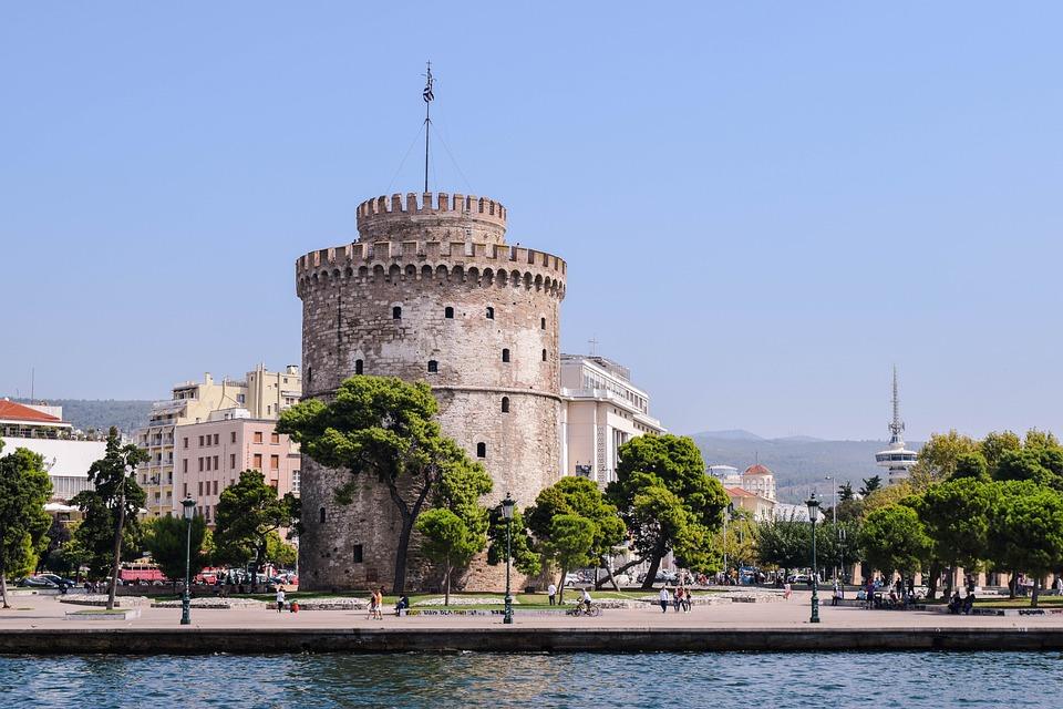 Grecja, Thessaloniki, Saloniki, Grecki, Podróży, Urlop
