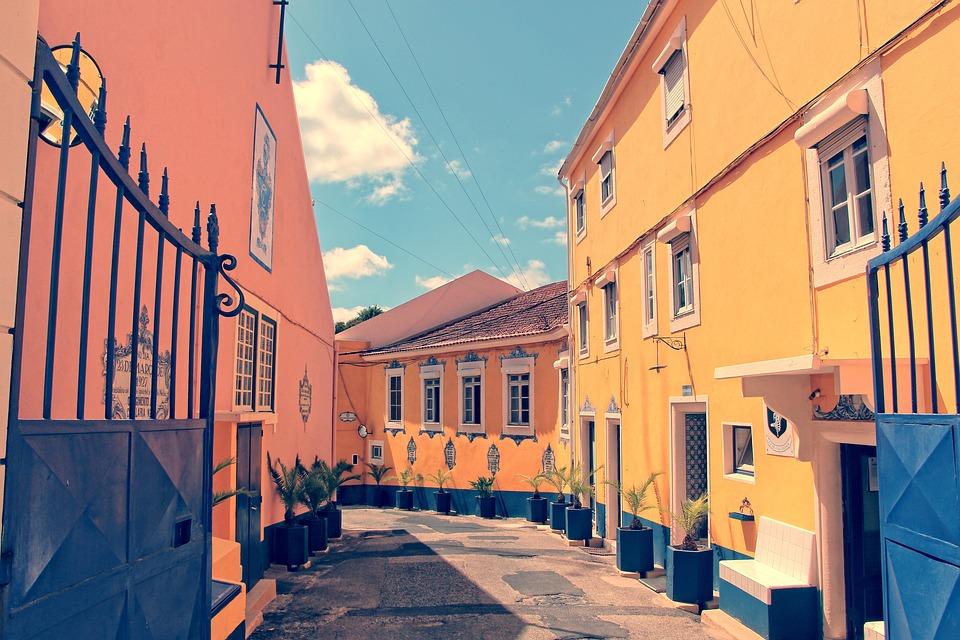 Lissabon Farben Fassaden - Kostenloses Foto auf Pixabay