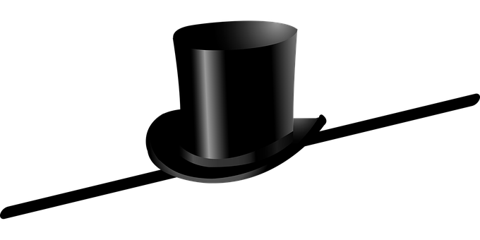 Top Hat, Cane, Dance, Celebrate, Hat