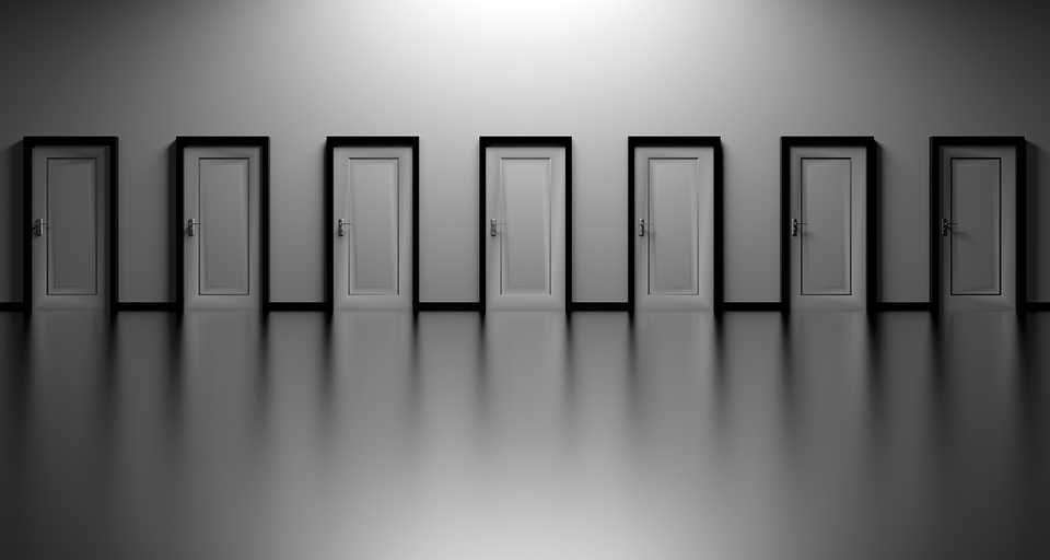 Türen, Entscheidungen, Wählen Sie, Offen, Entscheidung