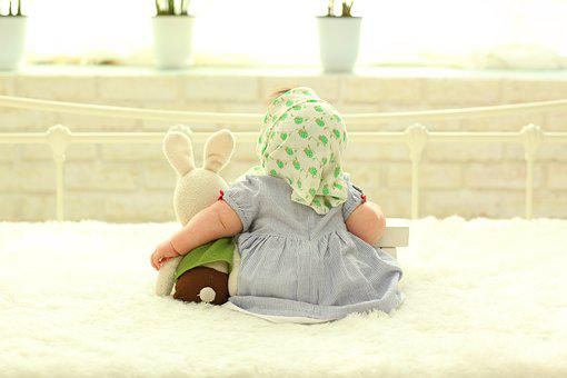 赤ちゃん後ろ姿, 赤ちゃん, 幼児, 裏の顔, 赤ちゃんと人形
