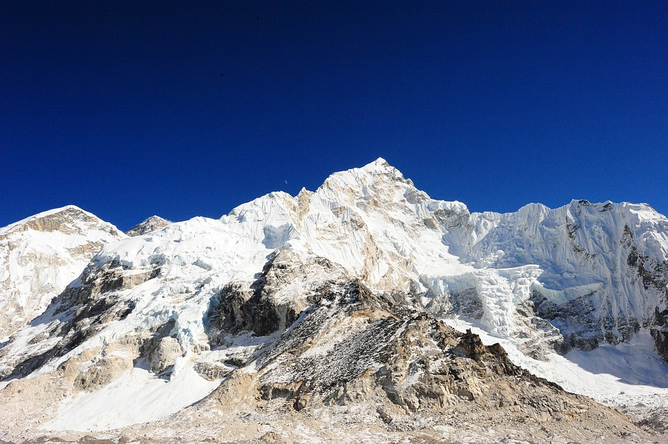 Everest View from Base Camp.