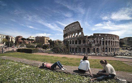 Colosseo, Vacanze, Antica, Roma