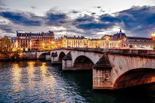 Pars Francia Ciudad Urbana Puente