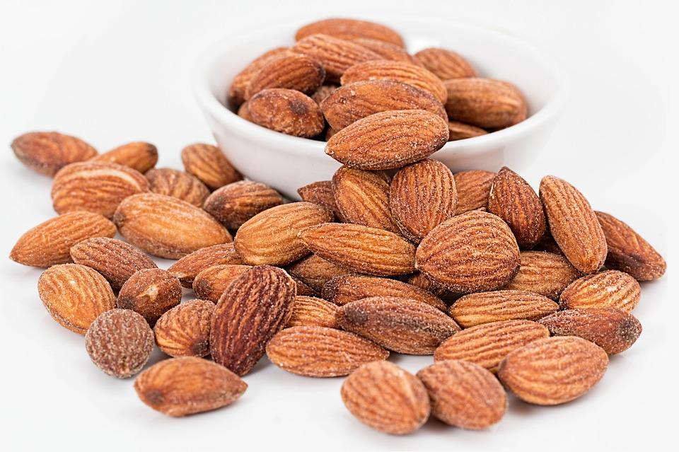 Almonds, Nuts, Roasted, Salted, Roasted Nuts