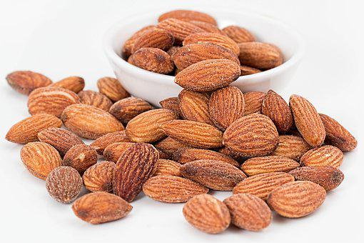 Almonds Nuts Roasted Salted Roasted Nuts S
