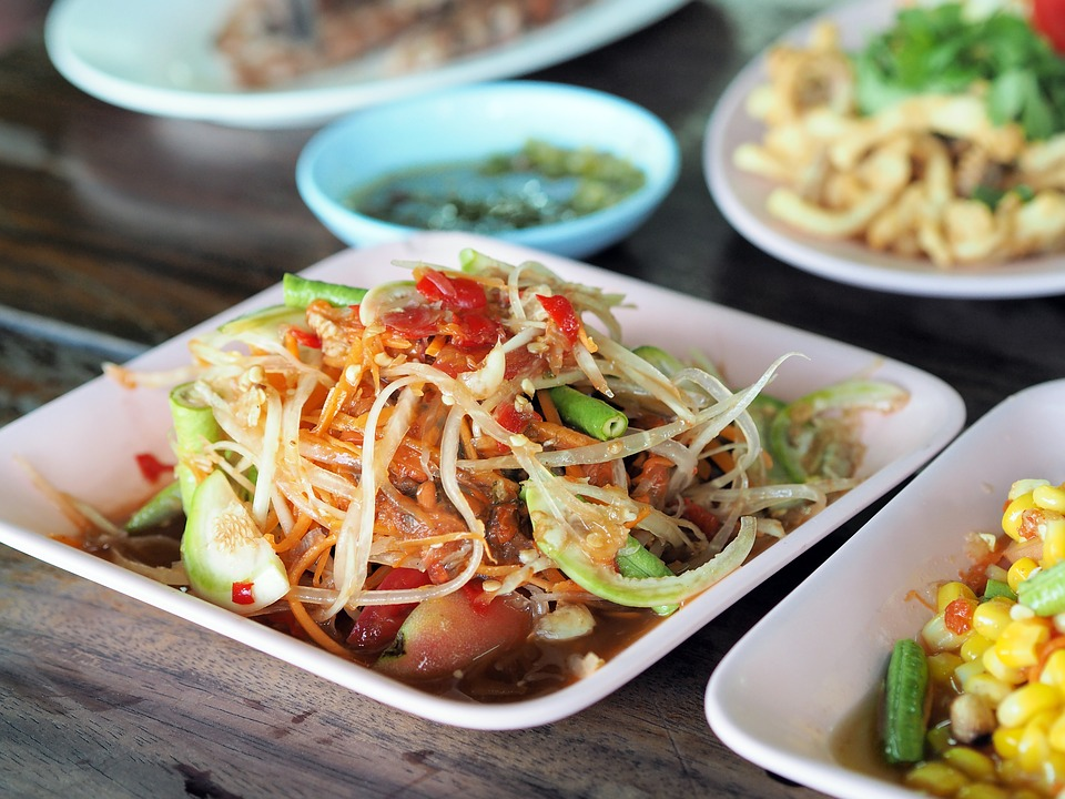 There's another side of Papaya you need to get a taste of, Som Tam! Source: Pixabay