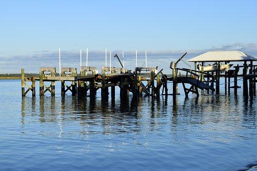 Hurricane Matthew, Damage, Dock, Pier