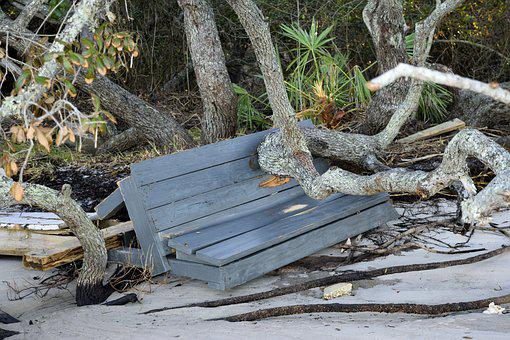 Hurricane Matthew Damage Dock Pier Outdoor