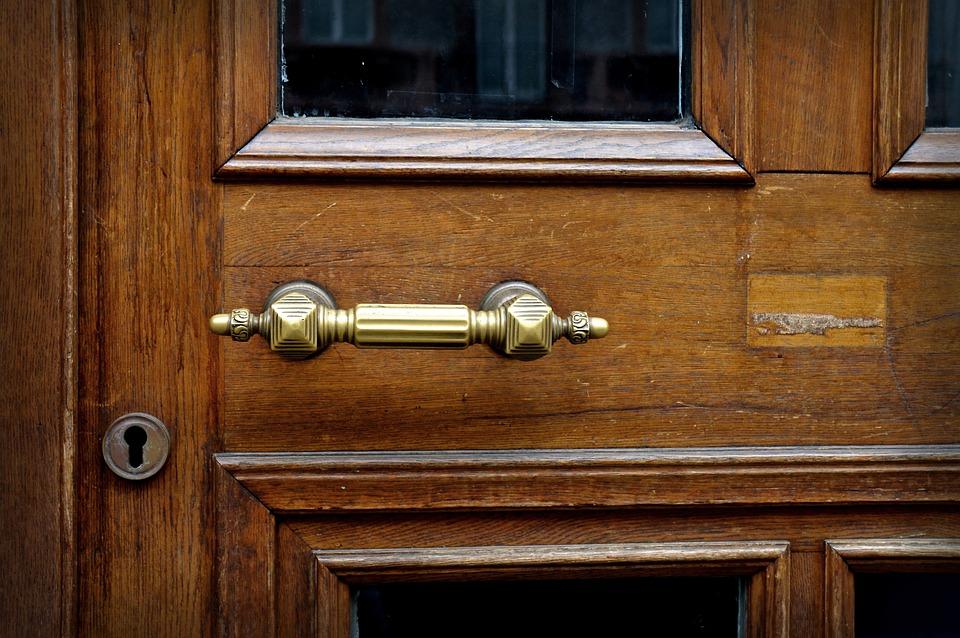 Maniglia porta ottone metallo foto gratis su pixabay - Maniglia porta ingresso ...
