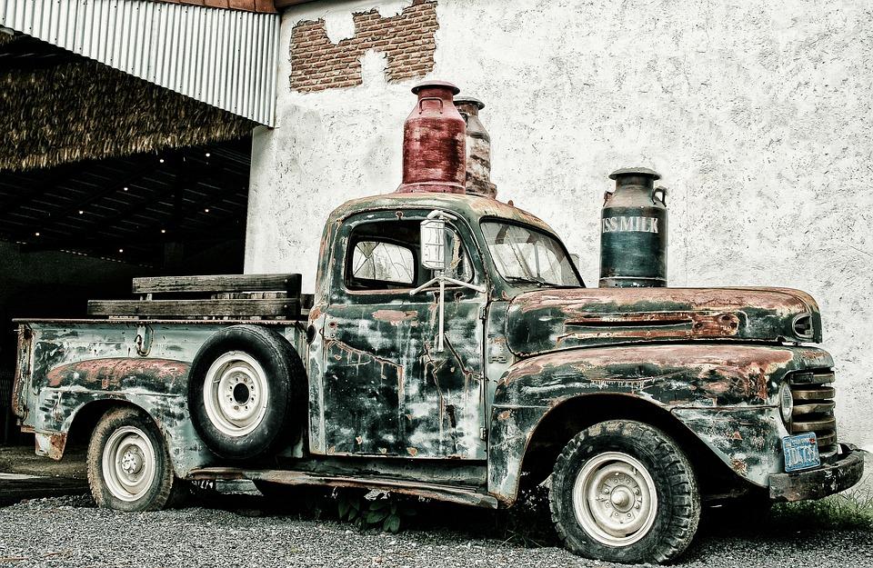 photo gratuite pick up camion de ferraille image gratuite sur pixabay 1771168. Black Bedroom Furniture Sets. Home Design Ideas