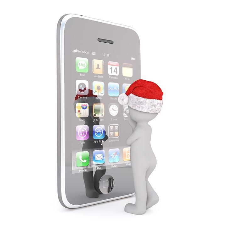 白人男性, 三次元モデル, 孤立しました, 3 D, モデル, 完全なボディ, 白, サンタ帽子, クリスマス