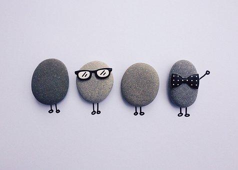 Rock, Art Craft, People, Team