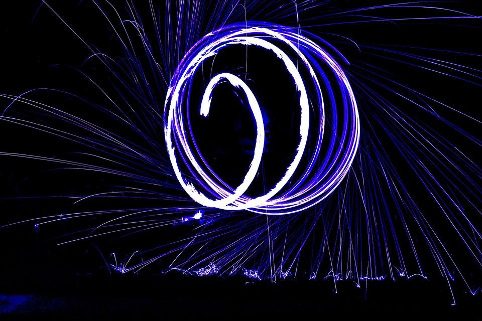 Larga Exposición, Noche, Efecto, Photoshop, Foto Editar