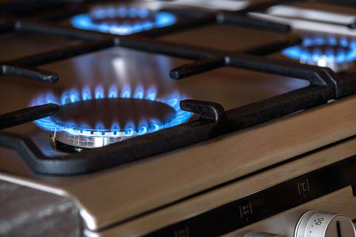 Gas Burners Cooker The Flame Blue Oven Coo