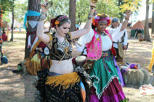 Dancers, Gypsies, Belly Dance, Faire