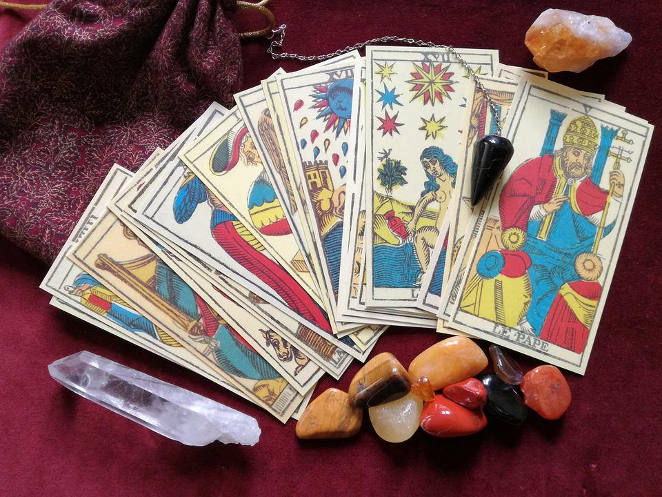 Tarot, Crystals, Pendulum, Occult, Esoteric, Magic