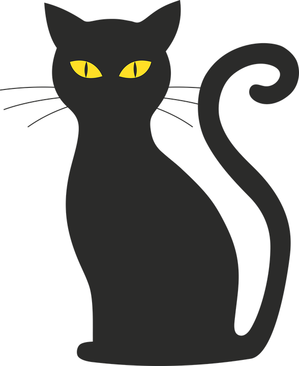 Cat Halloween Silhouette · Free vector graphic on Pixabay