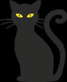gatos silueta im genes pixabay descarga im genes gratis. Black Bedroom Furniture Sets. Home Design Ideas