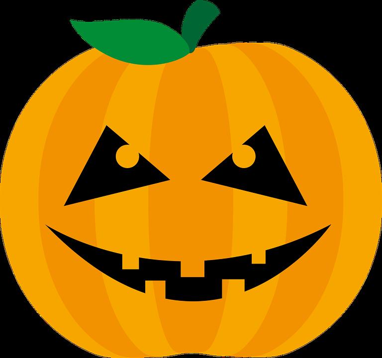 Pumpkin, Halloween, Orange, Happy Halloween, Fash, Grin