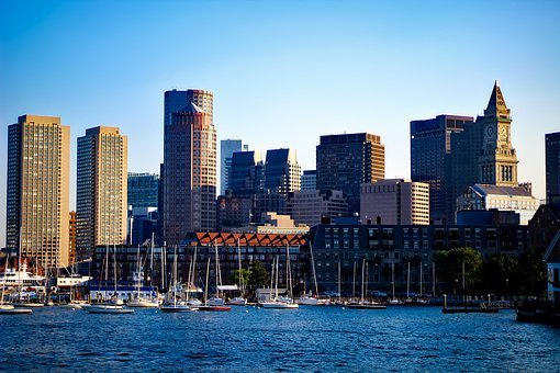 Boston, Massachusetts, City, Urban