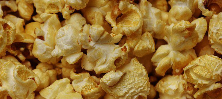 Popcorn Nibble Snacks Knabberzeug Eat