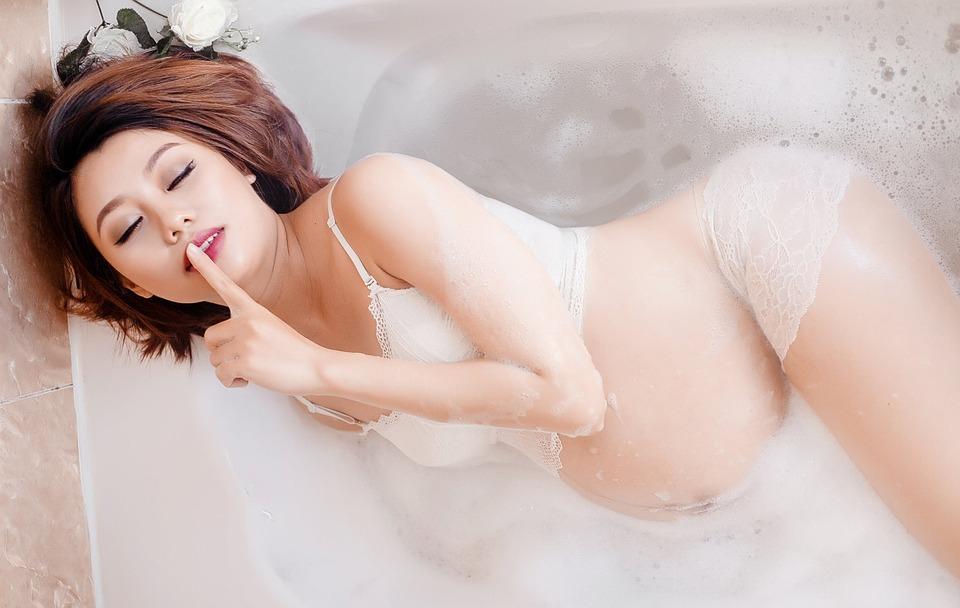 Pregnant Japanese Woman