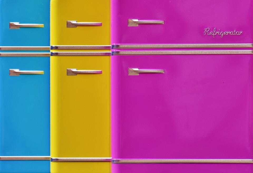 Réfrigérateurs, Image D'Arrière Plan