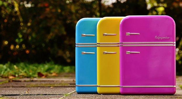 Réfrigérateurs, Boîtes De Conserve