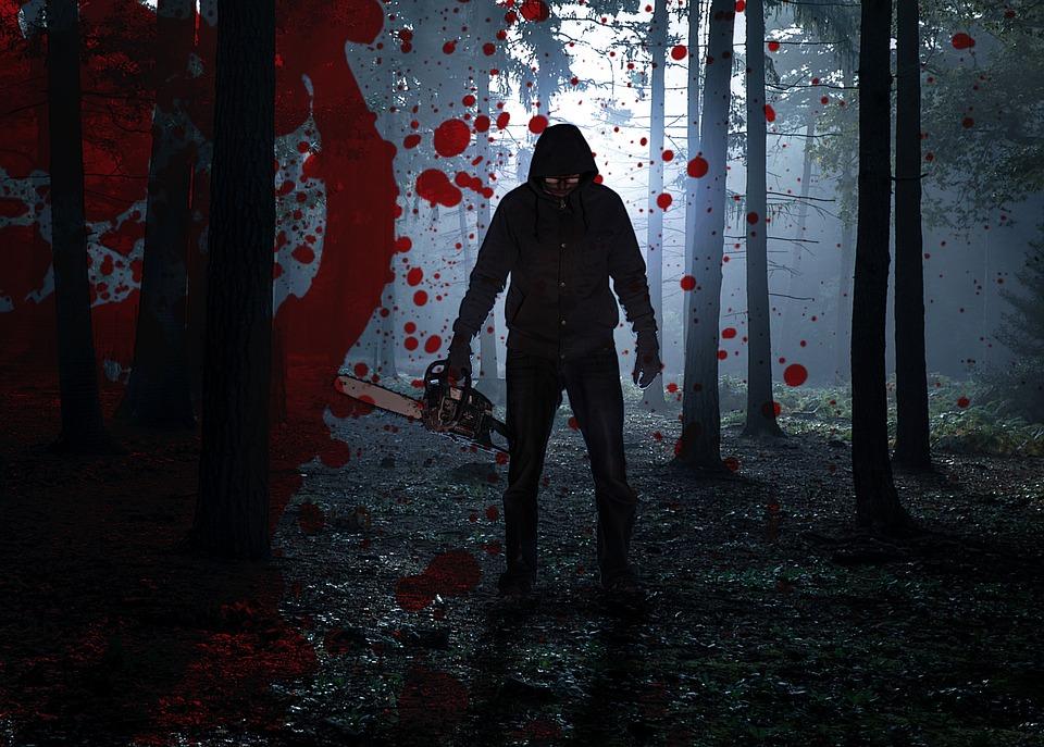Bloed, Angst, Fobie, Tremor, Halloween, Forest, Donker