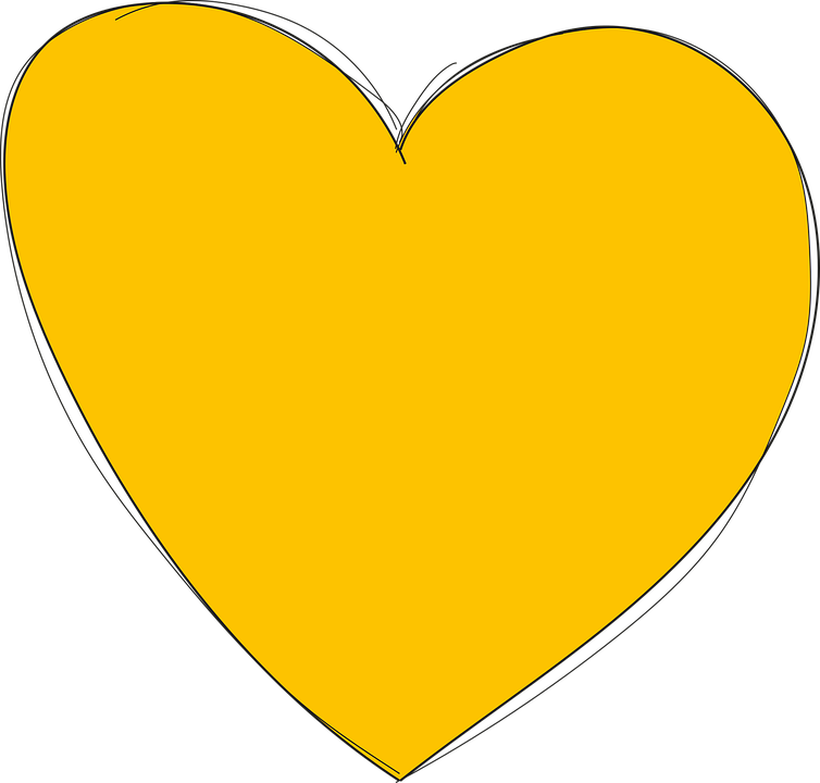 yellow heart png images galleries with a bite. Black Bedroom Furniture Sets. Home Design Ideas