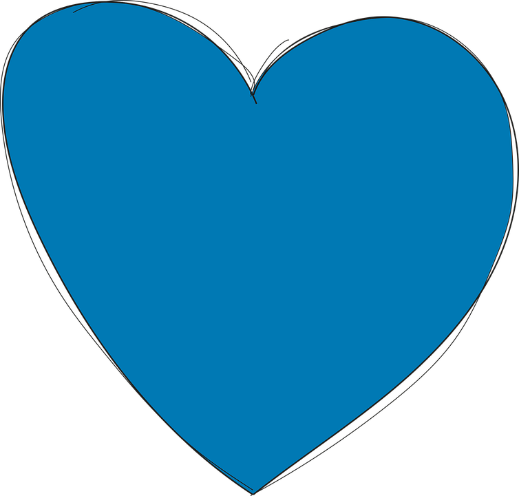 heart blue love  u00b7 free vector graphic on pixabay free clipart earth day april 22 free earth clipart