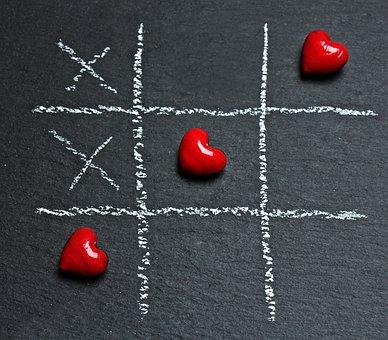 チックタックつま先, 愛, 中心部, 再生, チェック ボックス, 戦略ゲーム