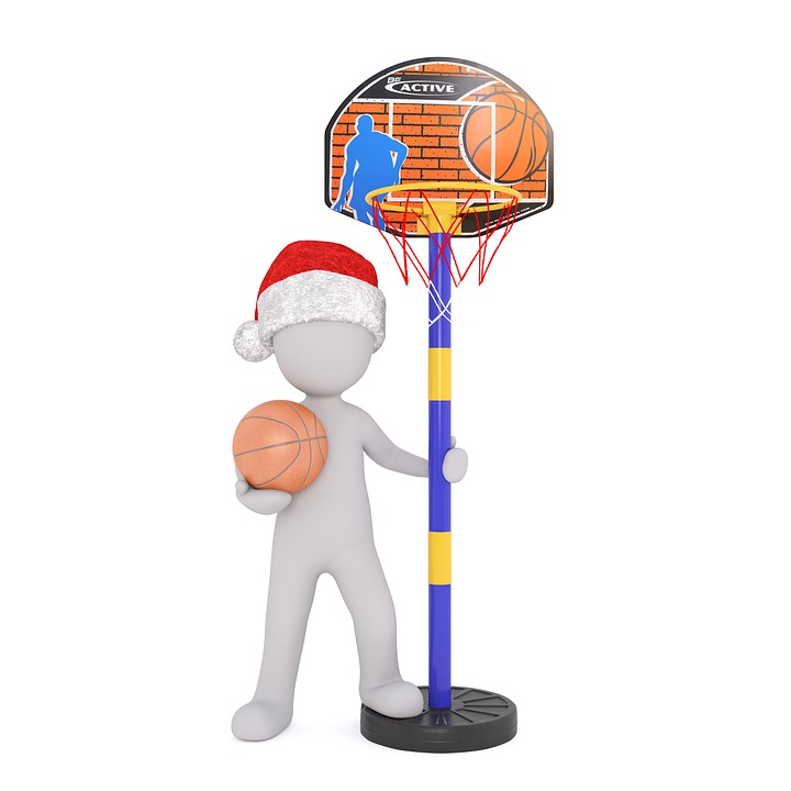 Basketball White Male 3D Model - Free image on Pixabay