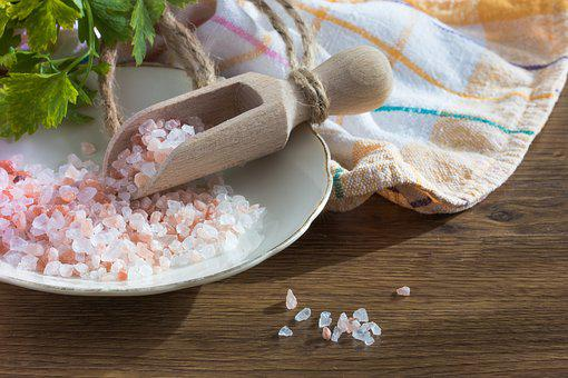 Salt Grains Himalayan Salt Eating Spices K