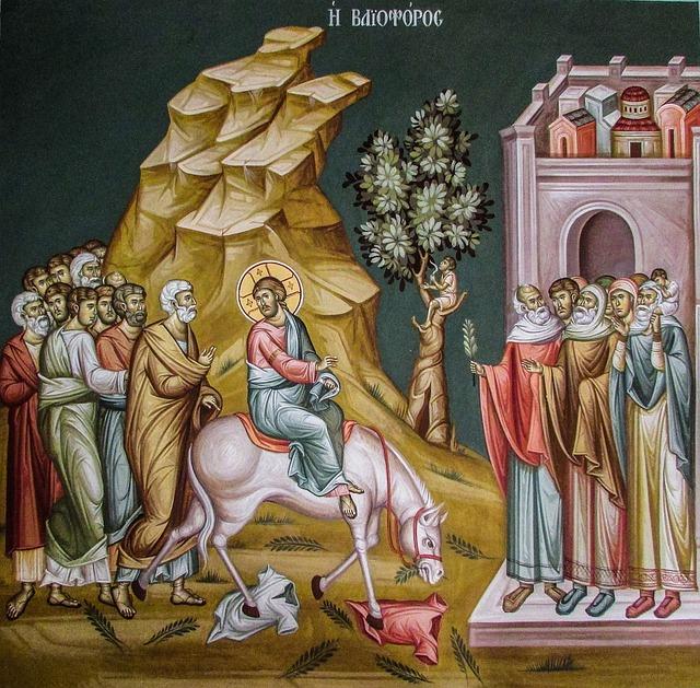 Света, вход господний в иерусалим картинки