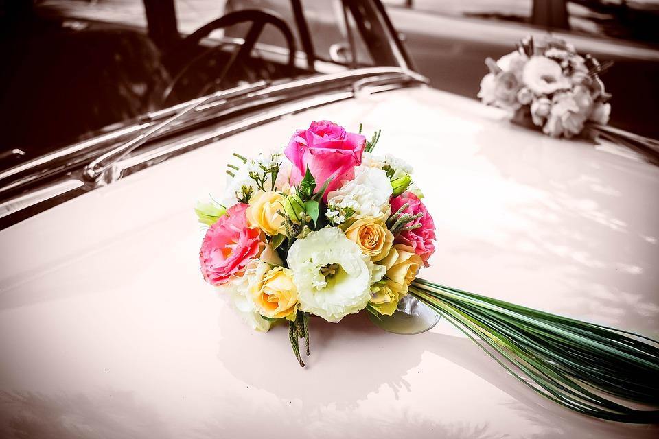 Hochzeitsblumen Retro Hochzeit Kostenloses Foto Auf Pixabay