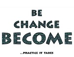 be, change, become