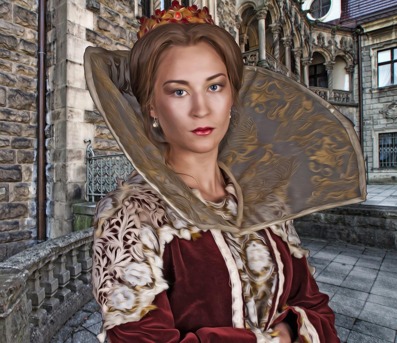Картинки женщины королевы
