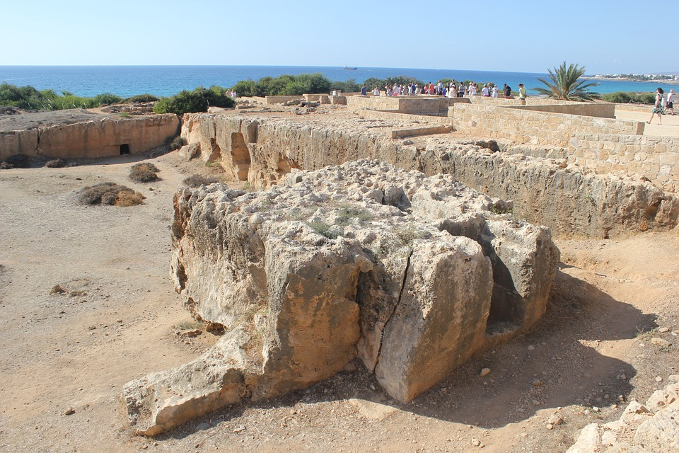 Paphos, Cyprus, Tomb, Old, Ruins, Acient, Architecture