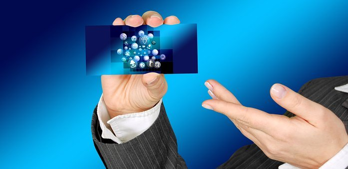 Business Card, Present, Hand, Structure