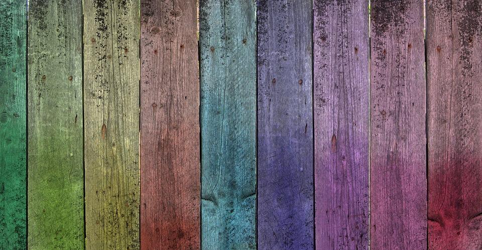 Free Illustration Rainbow Wood Old Old Wood Free
