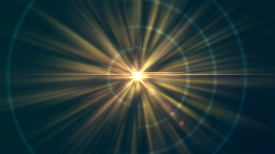Explosion Abstract Light Background Wallpaper