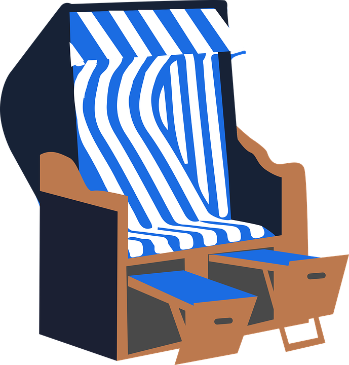 Free vector graphic beach chair summer sea holiday free beach chair summer sea holiday baltic sea voltagebd Gallery