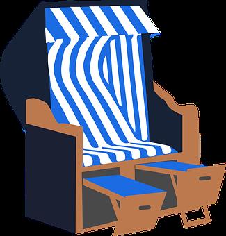 Strandkorb clipart  Strandkorb - Kostenlose Bilder auf Pixabay