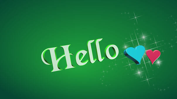 Hello, Text, Hi, Greeting, Introduction